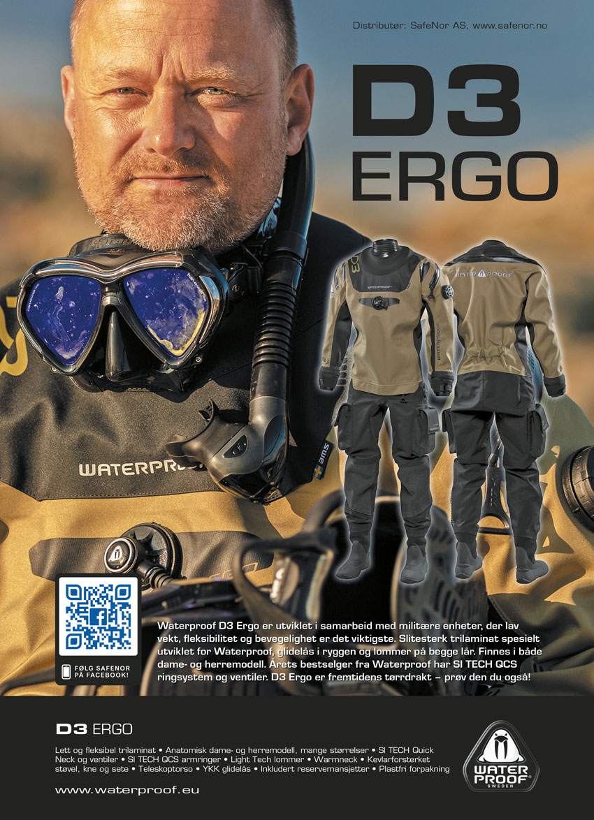 Annonsebanner Safenor Waterproof D3